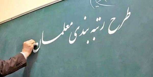 لایحه رتبه بندی معلمان تا خاتمه مهر به تصویب می رسد