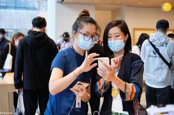 استقبال چینی ها از پیش فروش آیفون 13